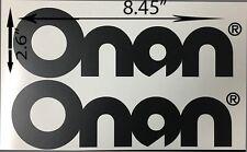 Generator Logo Decal Onan 8.45'' buy 1 get 2