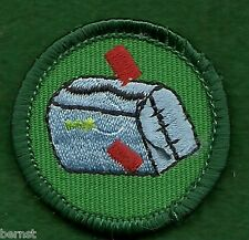GIRL SCOUT WORLDS TO EXPLORE BADGE - GREEN - ON MY WAY