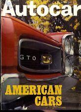 Autocar Magazine 1967-22/6 1926 CHRYSLER IMPERIAL - RAMBLER REBEL 6 ROAD TEST