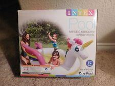 Brand new in the box Intex Mystic Unicorn Spray Pool