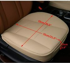 Front Seat Cover Half/Full Surround Chair Cushion Mat Pad Auto Car Pu Leather (Fits: Peugeot)