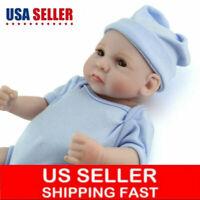 11'' Handmade Baby Dolls Lifelike Anatomically Correct Vinyl Silicone Boy Doll