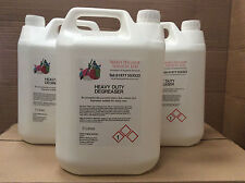 4 x Heavy Duty Degreaser 5ltr - BOX OF 4 - 5 Litre 5L Home Oven Cafe Restaurant