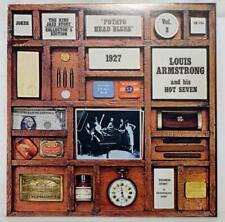 """Vintage 1975 Louis Armstrong And His Hot Seven 12"""" LP album"""