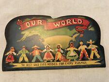 Our World Vintage Sewing Needles Pack, 1952, Pioneer Mdse.