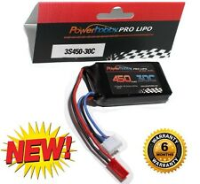 Powerhobby 3S 11.1V 450mAh 30C Lipo JST Connector : Blade 180 CFX Lipo Battery