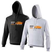 KTM Ready To Race Hoodie Biker Motorcycle Rider VARIOUS SIZES & COLOURS
