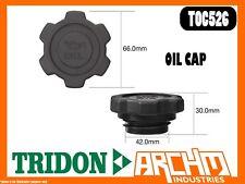 TRIDON TOC526 - OIL CAP - PLASTIC SCREW - COVER ORIFICE ENGINE OIL SUPPLY