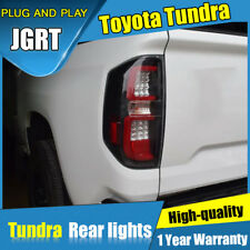 2014-2018 For Toyota Tundra Dark / Red LED Rear Lights Assembly new Tail Lamps