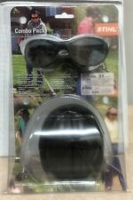 STIHL Combo Pack Smoke Safety Glasses & NRR 31 7010 884 0361