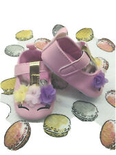 Unicorn Baby Girl Shoes 0-6 Months