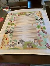 New ListingNeedlepoint Canvas Hand Painted Backgammon Board with Animals