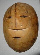 Ethnie LEGA Congo ancien masque tribal