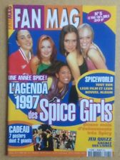 "SPICE GIRLS Original Vintage ""Fan Mag L'Agenda 1997"" French Poster Magazine No 5"