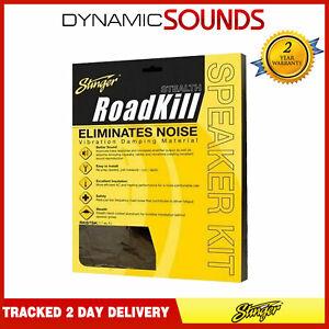 Stinger RKSTSK 1.7 Sq Feet Roadkill Stealth Black Sound Damping Car Speaker Kit
