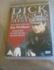 3 disc DVD set Dick Francis mysteries