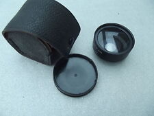 MAMIYA WIDE CONVERSION LENS 1:2.8 F = 38 MM WITH CARRYING CASE