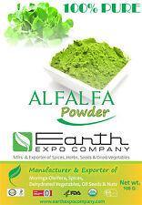 100% PURE ALFALFA POWDER - 100GM