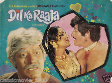 DIL KA RAAJA  PRESS BOOK  BOLLYWOOD RAAJ KUMAR LEENA CHANDRAWARKAR R.D. BURMAN