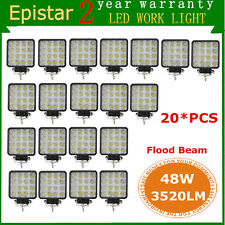 20X 48W LED Work Light Lamp 12V 24V Car boat Truck Driving ATV UTE DRL 4WD Flood