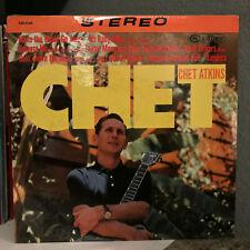 """CHET ATKINS - Chet - A True Artist - 12"""" Vinyl Record LP - SEALED"""