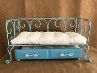 American Girl doll blue curlique daybed trundle mattresses furniture of today