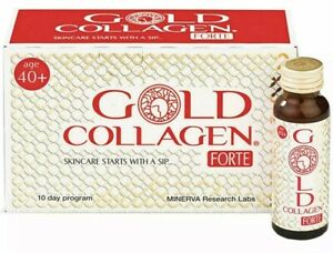 PURE GOLD COLLAGEN FORTE MINERVA ANTI AGE / SKIN WRINKLE CARE 40+ DRINKS HEALTH
