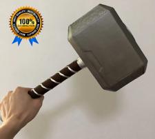 NEW 44cm Thor Hammer Mjolnir Avengers Cosplay Replica Prop Resin Base Full Stand