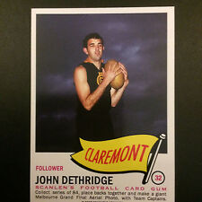 Scanlens Archives 1966 Pennant  John Dethridge Claremont  #32