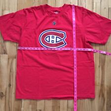 Montreal Canadians NHL Price 31 Reebok Red T-shirt XL