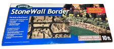 Gardeneer Dalen Stone Wall Border with SandStone Finish 10ft