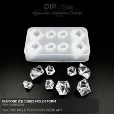 Epoxidharz Silikonform DIAMOND ICE CUBE DIAMANT Gießform Epoxy Resin Art Mold