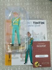 TINTIN  FIGURINE  COLLECTION  OFFICIELLE N° 111   HERGE   NEUF  COQUE