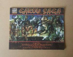 Werewolf The Apocalypse Who's Who Among Werewolves Garou Saga RPG Sourcebook
