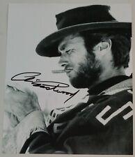 Clint Eastwood - Hand Signed 8x10 - Autographed Photo - Hologram coa