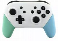 Nintendo Switch Custom White Animal crossing PRO Controller  W/ USB-C Cable