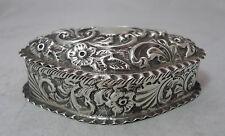 EDWARDIAN silver box William E Turner Birmingham 1903 78 g A602017