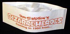 Don Simpson's BIZARRE HEROES FIASCO COMICS 1990's Promo Hat