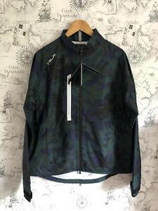 RLX Ralph Lauren Men`s Golf Waterproof Iron Jacket, Blackwatch Camo, Medium BNWT