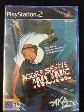 Aggresive inline videojuego para play 2 nuevo y precintado