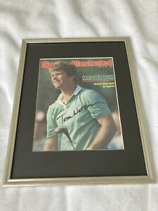 """TOM WATSON Autographed Sports Illustrated 4/20/81 """"Watson Wins Again At Augusta"""""""