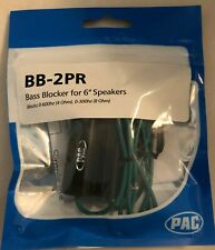 "Pac Bb-2Pr High Quality Bass Blocker For 6"" Speakers (Pair)"