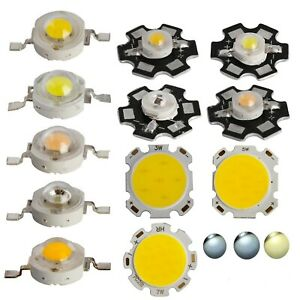 1W 3W 5W 7W White Warm White Netural White High Power LED SMD Chip COB Lamp PCB