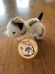 1996 North American Bear Company Purrlie Cat Dollhouse Muffy Vanderbear NWT