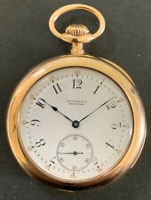 Original 18k Tiffany &Co. Minute Repeater Pocket Watch By Patek Philippe, Rare.