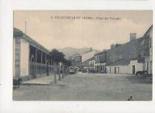 Villagarcia De Arosa Plaza Del Pescado Spain Vintage Postcard 888a