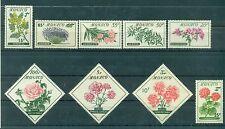 Monaco 1959 - Y & T  n. 514/22 - Fleurs - Flowers