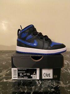 Jordan 1 Mid Royal Blue 2020 (PS) Size 11c