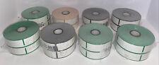 """Citizen Printer Retail Bcw Dt Tags Lot of 8 Rolls 2.375"""" x 3.375"""" (S) 1185000"""