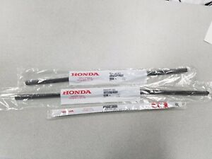 NEW GENUINE HONDA ODYSSEY WIPER REFILL SET 2008 TO 2010 FOR FACTORY BLADES